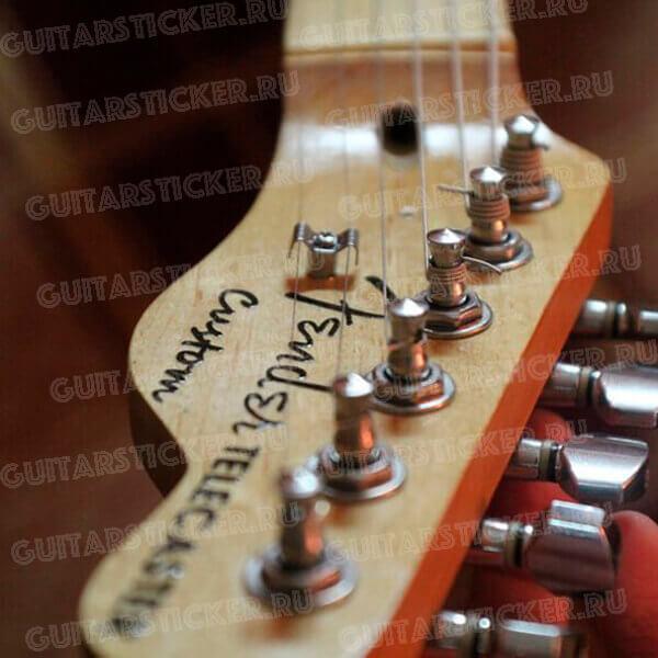 Купить декаль Fender-72-Telecaster
