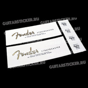 Купить декали для гитары Fender Stratocaster 1964