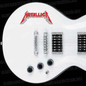 Купить наклейку Metallica
