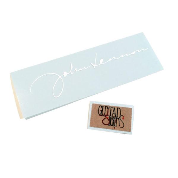 Купить наклейку Автограф Джона Леннона (John Lennon) из винила