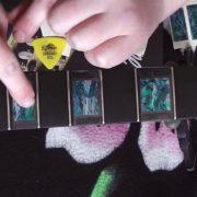 Купить наклейки блоки прямоугольные на гриф гитары