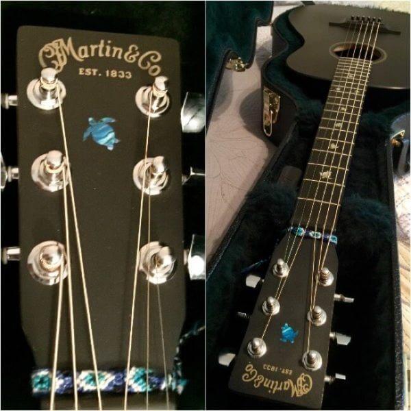 Купить комплект наклеек в виде черепашек на гитару