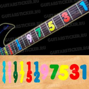 Маркировка гитары Jason Becker