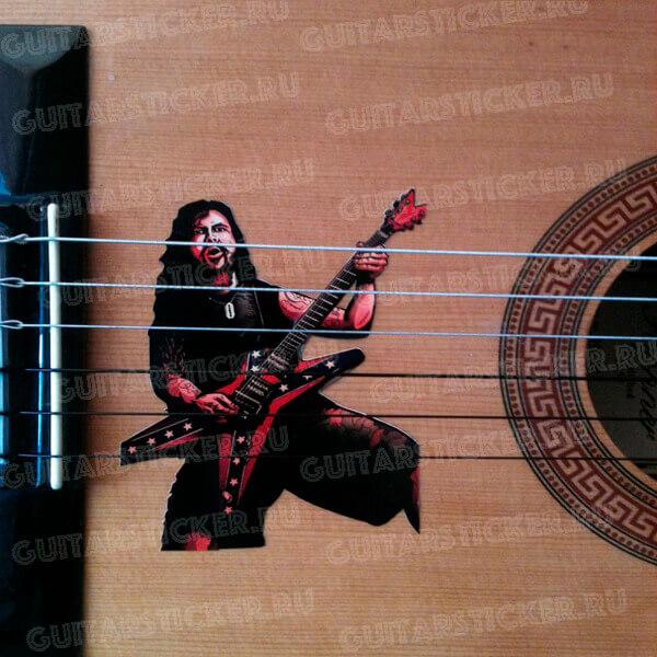 Купить наклейку на гитару Даймбэг Дарелл