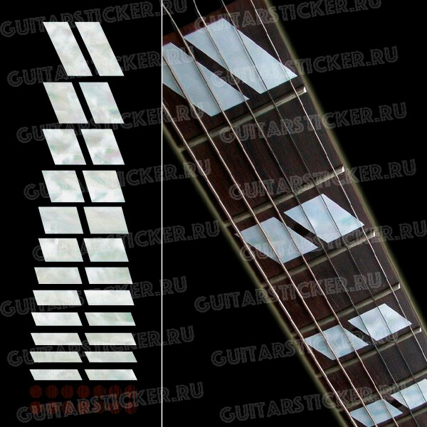 Купить параллелограммы для маркировки грифа гитары