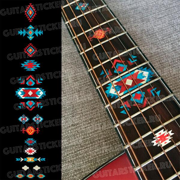 Этнические узоры для гитары