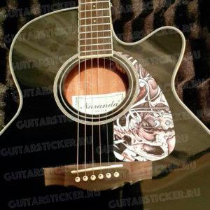 Купить защитную наклейку для гитары