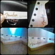 Купить декаль Fender Stratocaster 1954-1960 для гитары