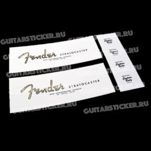 Декаль на гитару fender-stratocaster-1961