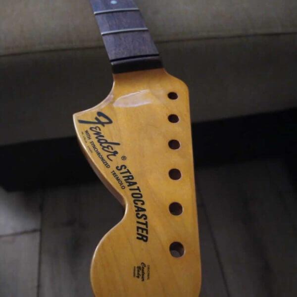 Логотип для головы грифа Fender Stratocaster 1968-1970