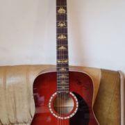 Комплект наклеек на гриф гитары гарсия