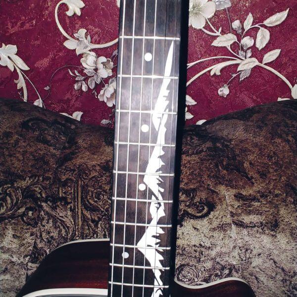 горы на гриф гитары