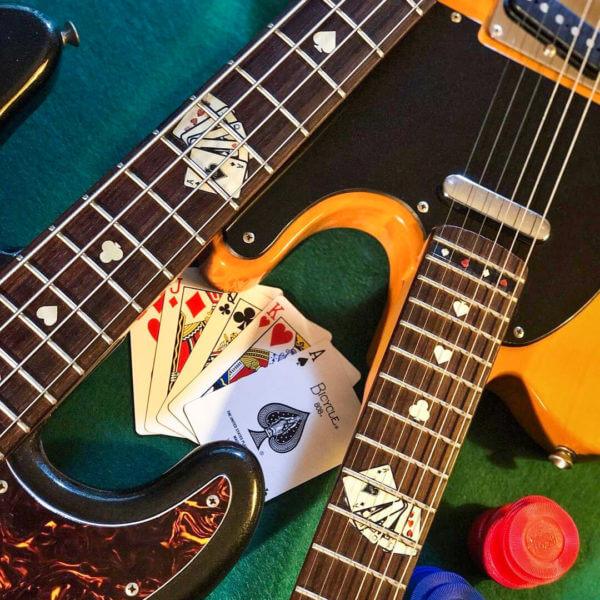 Комплект Карты на гриф гитары