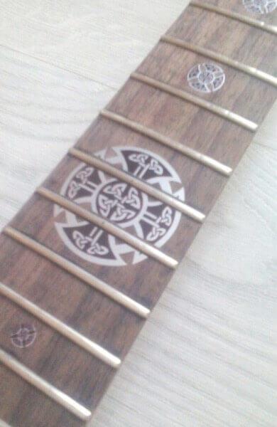 Купить наклейки на накладку грифа гитары