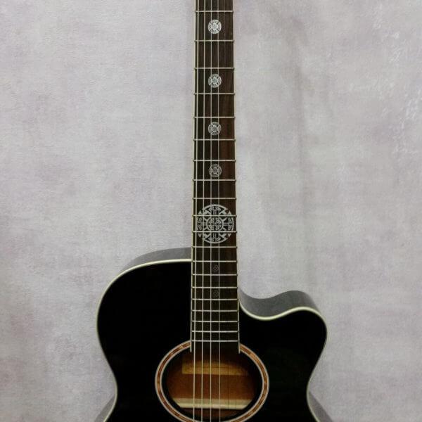 Наклейки на гриф акустической гитары в виде кельтского креста