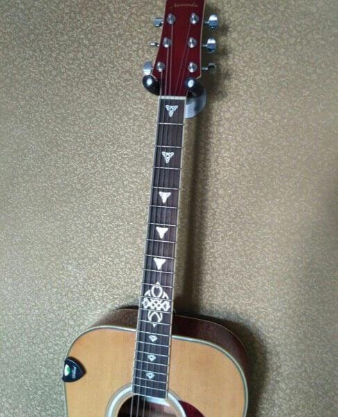 Комплект наклеек на гриф акустической гитары кельтский узел