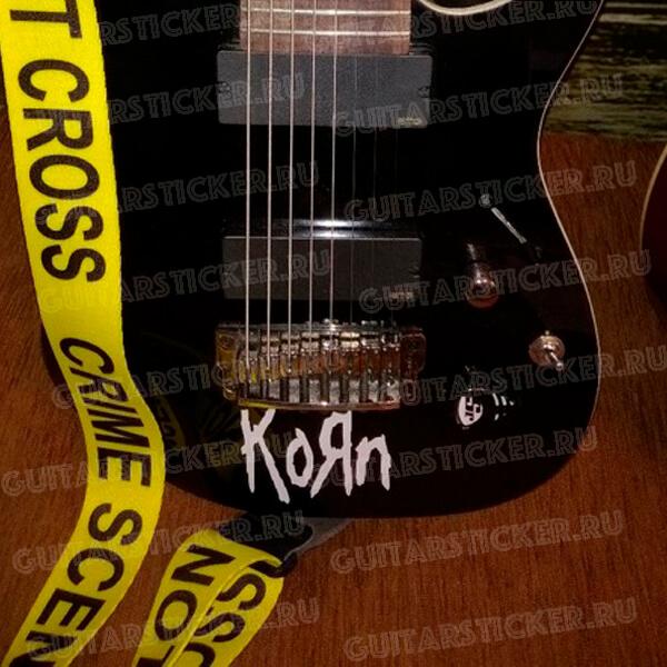Купить наклейки метал групп Korn