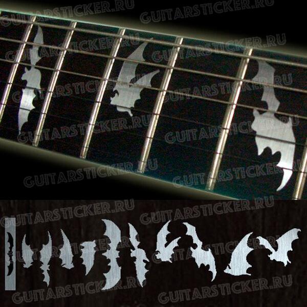 Летучие мыши на гриф гитары