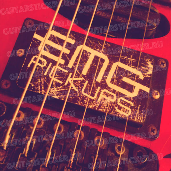 Наклейки для звукоснимателя EMG