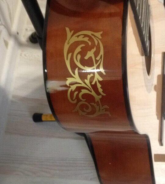 Купить наклейки для обечайки гитары