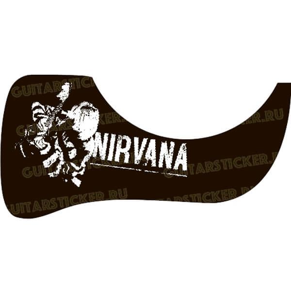 Капля для гитары с группой Nirvana