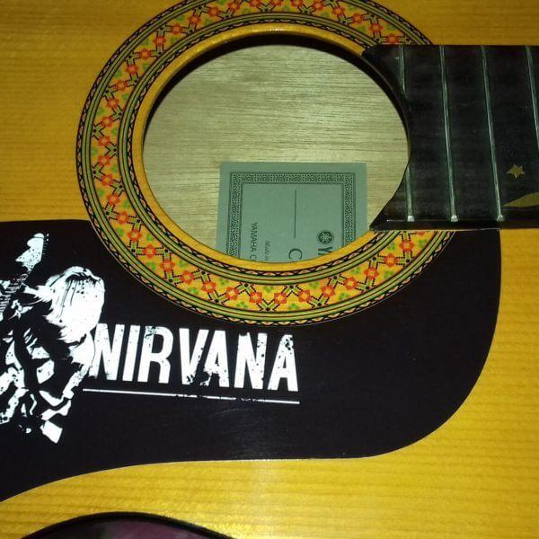 Нирвана капля для гитары купить наклейку