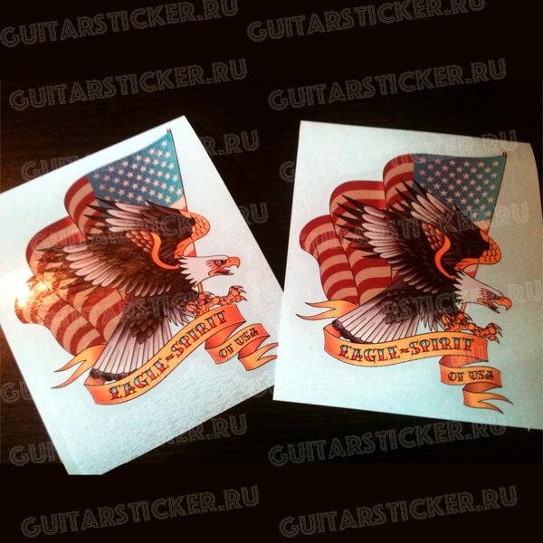 Купить виниловую наклейку орел США