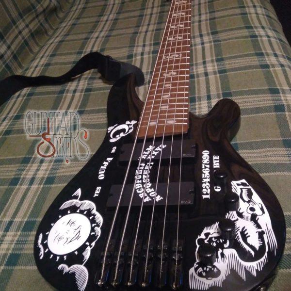Купить наклейки из винила для гитары Ouija (Кирк Хэммет)