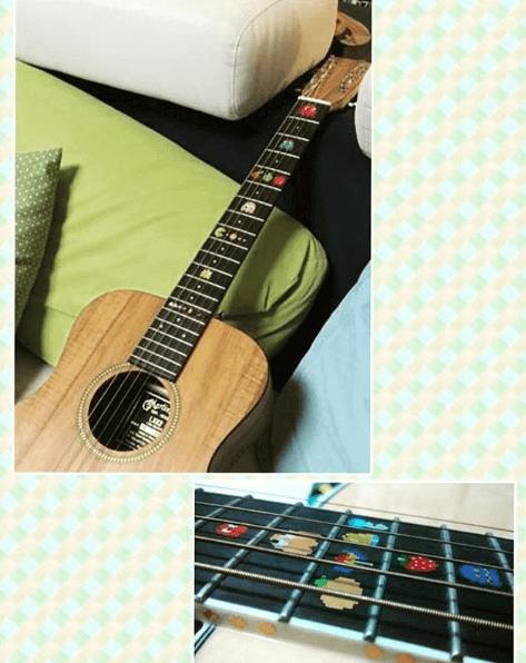 Купить наклейки pacman пакман на гитару