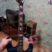 Купить комплект наклеек на гриф гитары пулевые отверстия