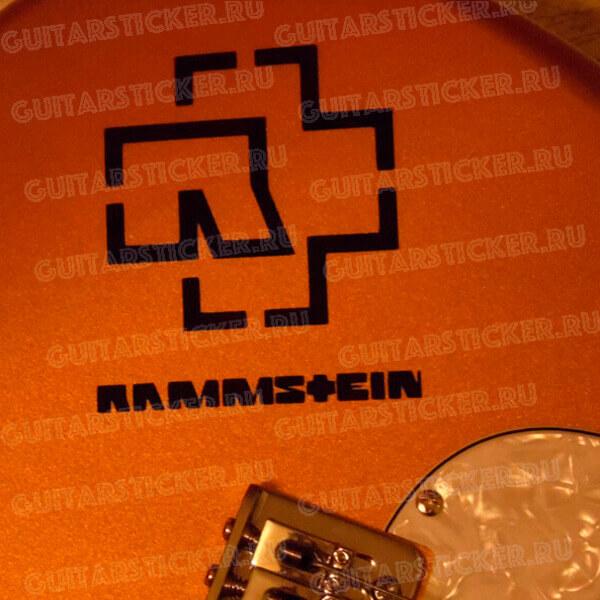 Купить наклейки rammstein