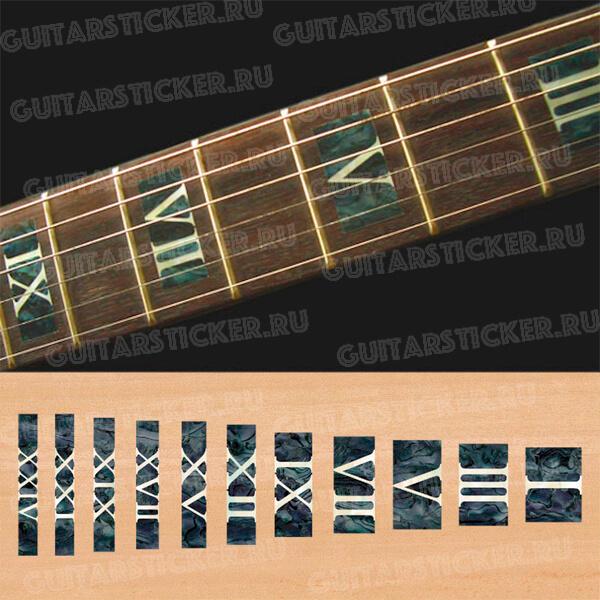 Римские цифры на гриф гитары