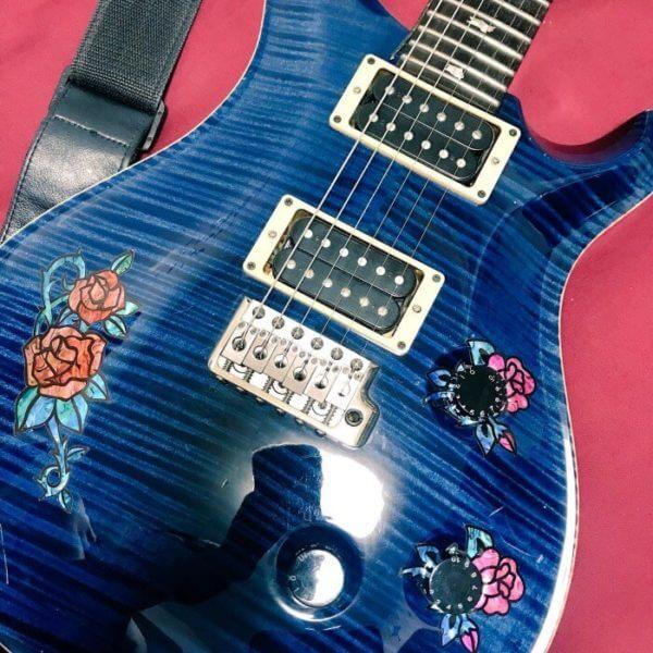 Виниловые наклейки на ручку громкости гитары