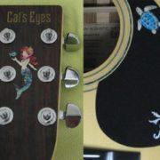 Купить наклейку с русалочкой для гитары