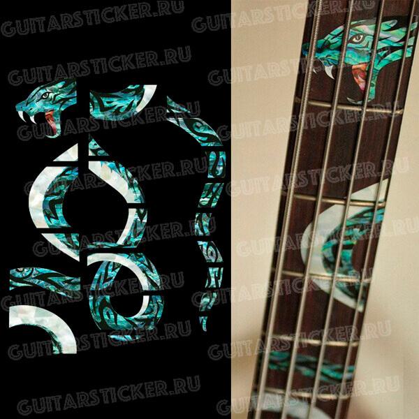 Наклейки для бас-гитары