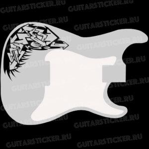 Купить наклейки стрелки на деку гитары