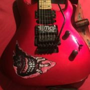 Купить объемные наклейки на деку гитары