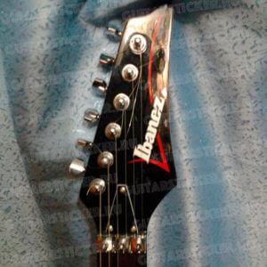 ibanez check style деколь на гитару