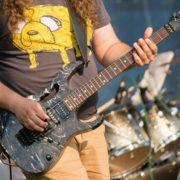 Деколь ibanez check style на гитару
