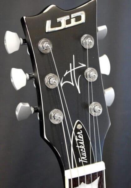 Виниловые автографы на гитару