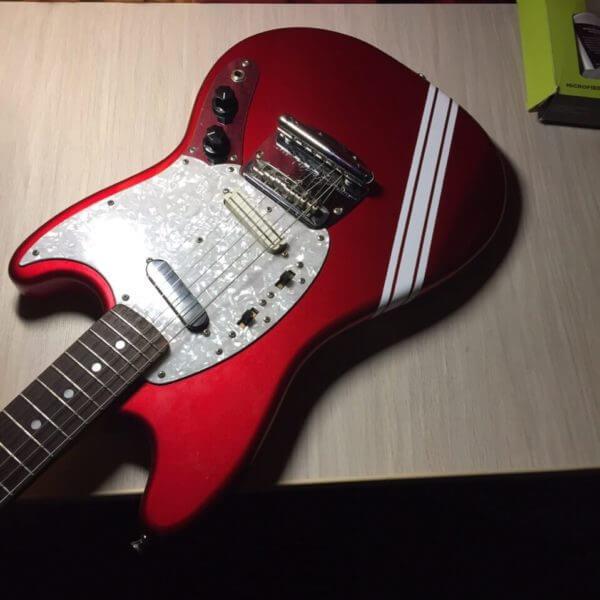 Купить наклейки полоски на деку гитары
