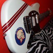 Виниловые полосы на гитаре