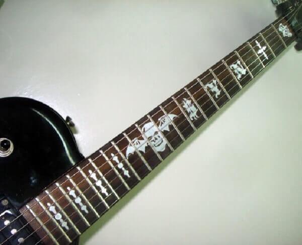 Комплект наклеек на гриф гитары SYN