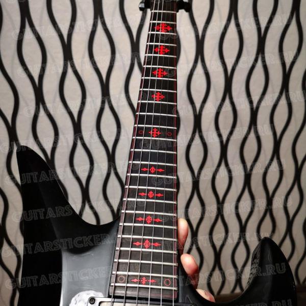 Купить маркировку грифа для гитары schecter