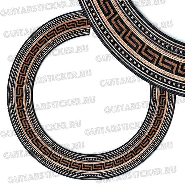Купить виниловые наклейки на резонатор гитары