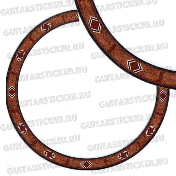 Розетки классических гитары