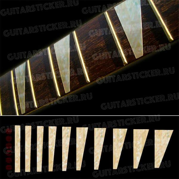 Купить комплект наклеек на гитару как у Рики Кинга