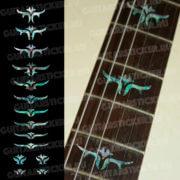 Комплект инлеев на гриф гитары