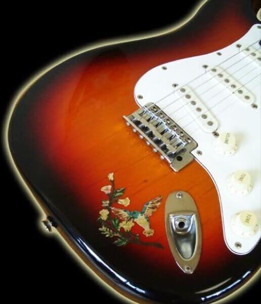 Купить наклейки для гитары в Питере