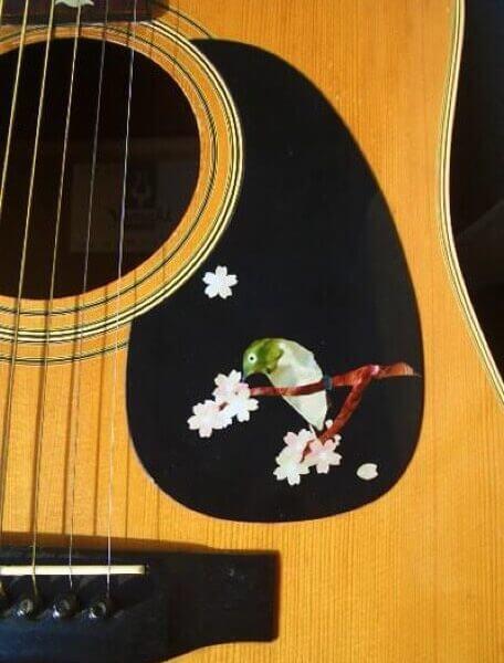 Соловей приклеить на деку гитары